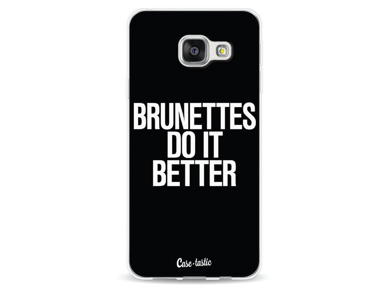 Casetastic Softcover Samsung Galaxy A3 (2016) - Brunettes Do It Better