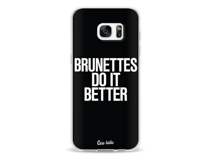 Casetastic Softcover Samsung Galaxy S7 Edge - Brunettes Do It Better