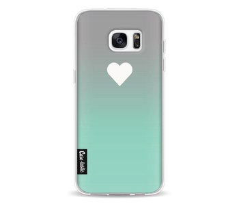 Tiffany Heart Fade - Samsung Galaxy S7 Edge