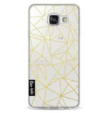 Casetastic Softcover Samsung Galaxy A3 (2016) - Abstraction Half Half Transparent