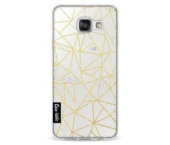 Abstraction Half Half Transparent - Samsung Galaxy A3 (2016)