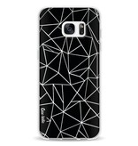 Casetastic Softcover Samsung Galaxy S7 Edge - Abstraction Outline
