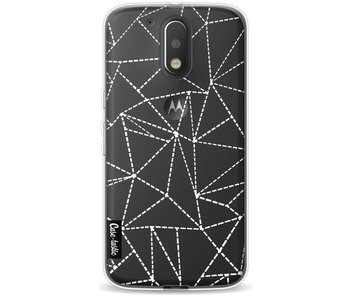 Abstract Dotted Lines Transparent - Motorola Moto G4 / G4 Plus