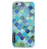 Casetastic Softcover Apple iPhone 6 / 6s  - Aqua Moroccan Tiles