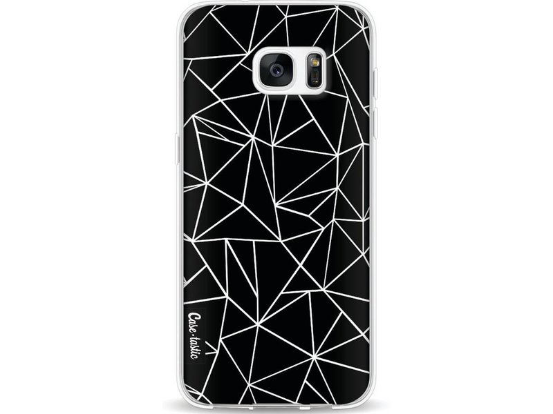 Casetastic Softcover Samsung Galaxy S7 Edge - Abstraction Outline Black
