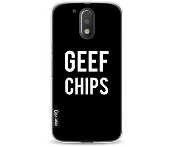 Geef Chips - Motorola Moto G4 / G4 Plus
