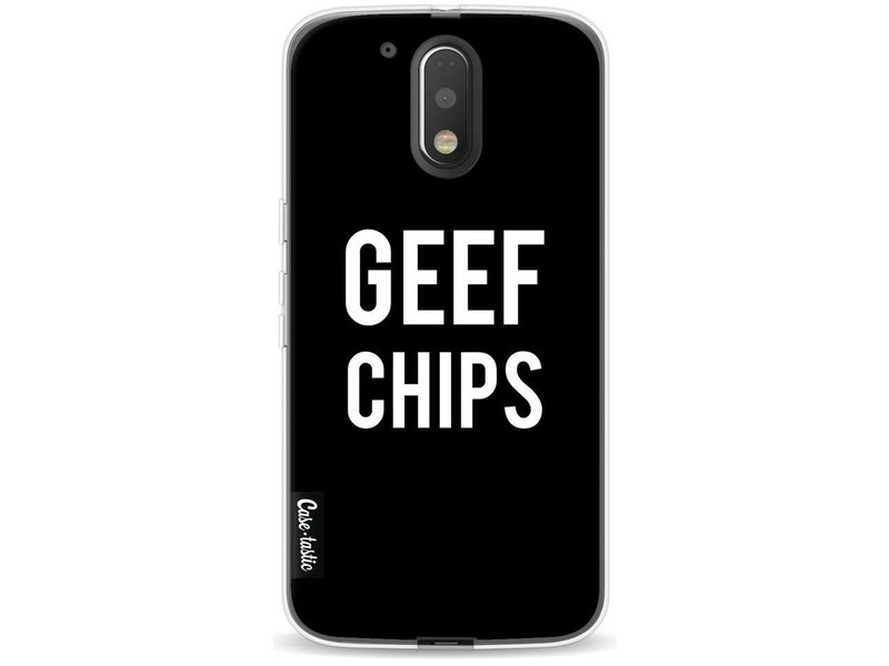Casetastic Softcover Motorola Moto G4 / G4 Plus - Geef Chips