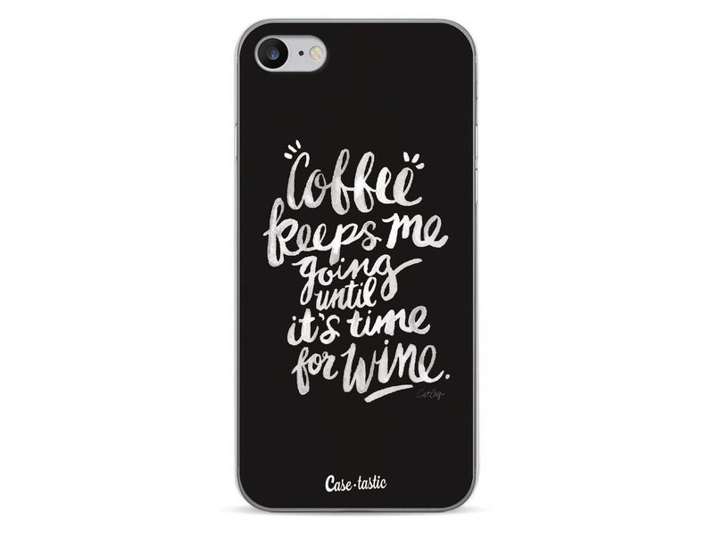 Casetastic Softcover Apple iPhone 7 - Coffee Wine White