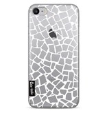Casetastic Softcover Apple iPhone 7 - British Mosaic White Transparent