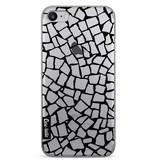 Casetastic Softcover Apple iPhone 7 - British Mosaic Black Transparent