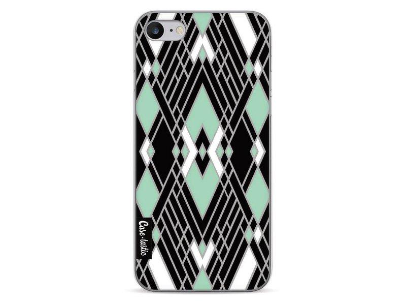 Casetastic Softcover Apple iPhone 7 - Art Deco Mint