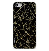 Casetastic Softcover Apple iPhone 7 - Abstraction Outline Gold