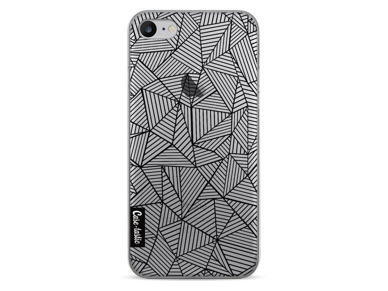 Casetastic Softcover Apple iPhone 7 - Abstraction Lines Transparent