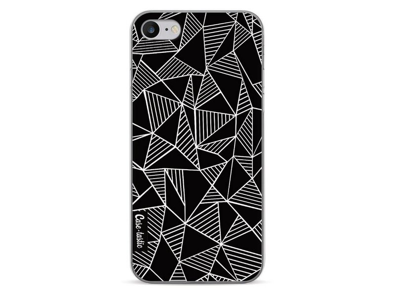 Casetastic Softcover Apple iPhone 7 - Abstraction Lines Black
