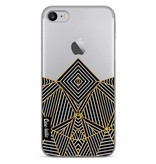 Casetastic Softcover Apple iPhone 7 - Abstraction Half Transparent