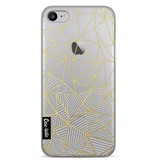 Casetastic Softcover Apple iPhone 7 - Abstraction Half Half Transparent