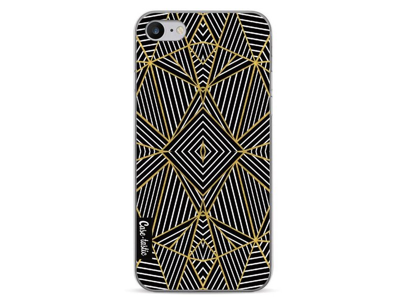 Casetastic Softcover Apple iPhone 7 - Abstraction Half Gold