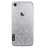 Casetastic Softcover Apple iPhone 7 - Abstract Dotted Lines Transparent