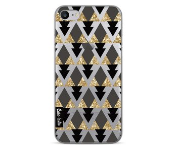 Gold Black Triangles - Apple iPhone 7