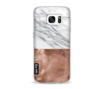 Marble Copper - Samsung Galaxy S7