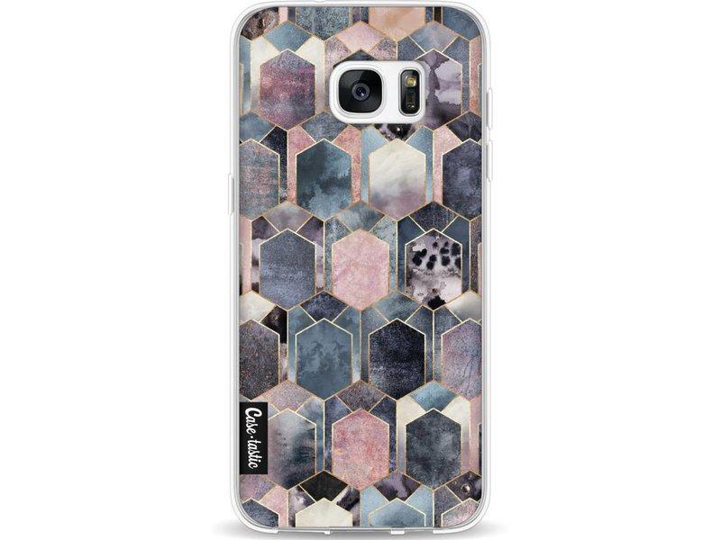 Casetastic Softcover Samsung Galaxy S7 Edge - Art Deco Dream