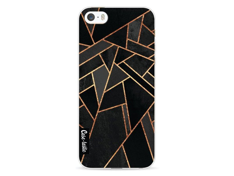Casetastic Softcover Apple iPhone 5 / 5s / SE - Black Night