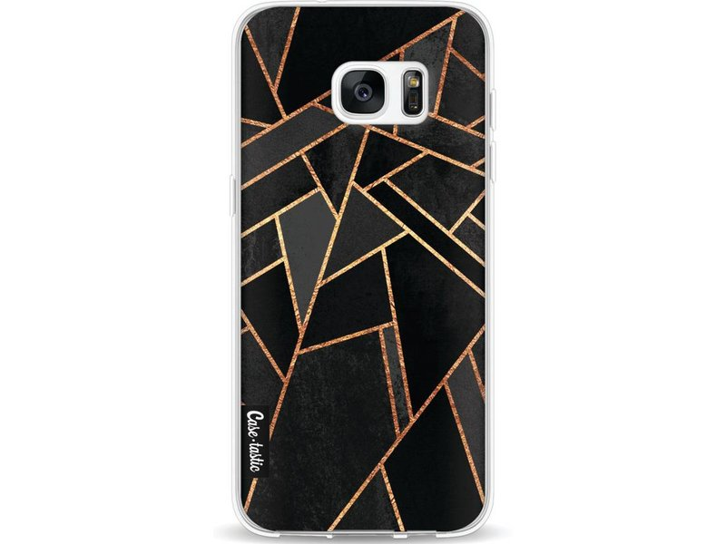 Casetastic Softcover Samsung Galaxy S7 Edge - Black Night