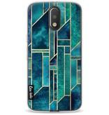 Casetastic Softcover Motorola Moto G4 / G4 Plus - Blue Skies