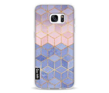 Rose Quartz and Serenity Cubes - Samsung Galaxy S7 Edge