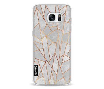 Shattered Concrete - Samsung Galaxy S7 Edge