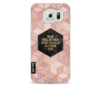 She Believed She Could So She Did - Samsung Galaxy S6