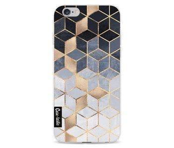 Soft Blue Gradient Cubes - Apple iPhone 6 / 6s