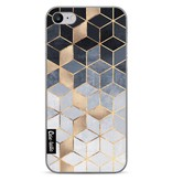 Casetastic Softcover Apple iPhone 7 - Soft Blue Gradient Cubes