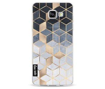 Soft Blue Gradient Cubes - Samsung Galaxy A5 (2016)