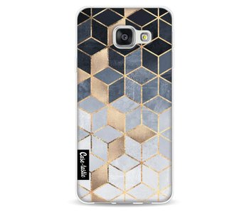 Soft Blue Gradient Cubes - Samsung Galaxy A3 (2016)