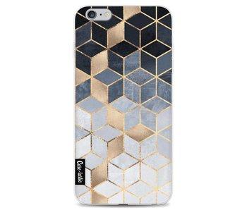 Soft Blue Gradient Cubes - Apple iPhone 6 Plus / 6s Plus