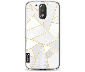 White Stone - Motorola Moto G4 / G4 Plus