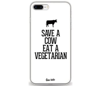 Save a Cow Eat a Vegetarian - Apple iPhone 7 Plus