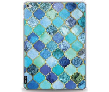 Aqua Moroccan Tiles - Apple iPad Air 2
