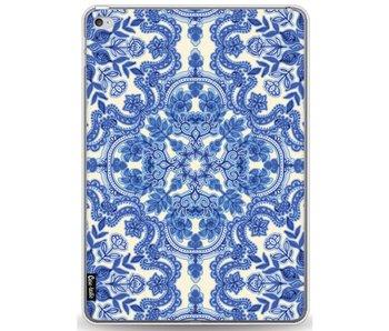 Blue White Folk Art - Apple iPad Air 2