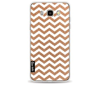 Copper Chevron - Samsung Galaxy J5 (2016)