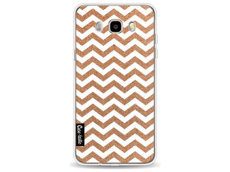 Casetastic Softcover Samsung Galaxy J5 (2016) - Copper Chevron