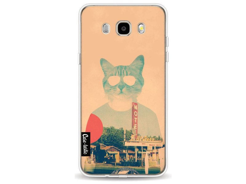 Casetastic Softcover Samsung Galaxy J5 (2016) - Cool Cat