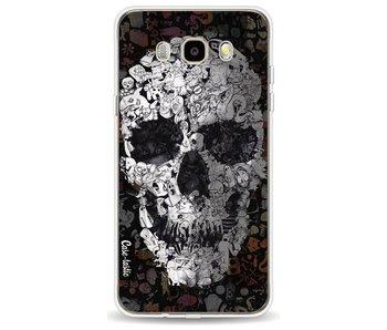 Doodle Skull BW - Samsung Galaxy J5 (2016)