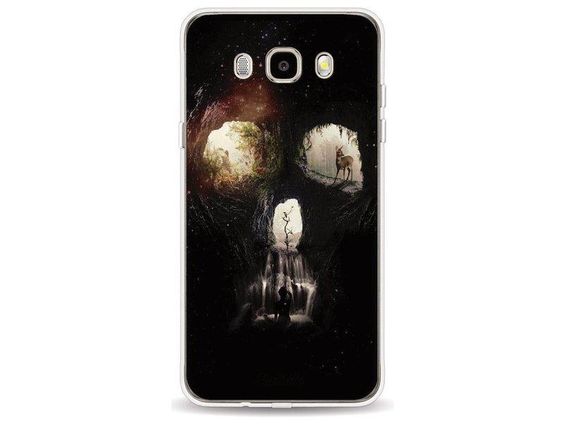Casetastic Softcover Samsung Galaxy J5 (2016) - Cave Skull