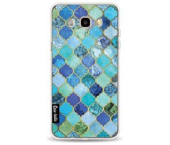 Aqua Moroccan Tiles - Samsung Galaxy J5 (2016)