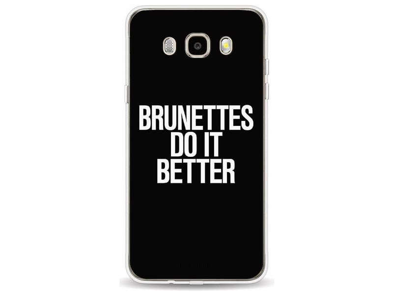 Casetastic Softcover Samsung Galaxy J5 (2016) - Brunettes Do It Better