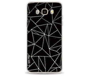 Abstract Dotted Lines Black - Samsung Galaxy J5 (2016)