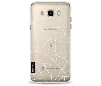 Abstract Dotted Lines Transparent - Samsung Galaxy J5 (2016)