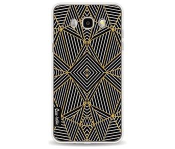 Abstraction Half Gold - Samsung Galaxy J5 (2016)